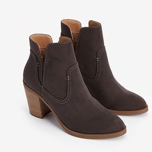 NEW Express High Side Slit Booties